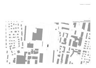 Schwarzplan Dienstgebäude 01 SBB von Leutwyler Partner Architekten AG