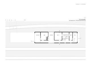 Grundrissplan Dienstgebäude 01 SBB von Leutwyler Partner Architekten AG