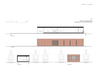 Schnitt- I Fassadenpläne Dienstgebäude 01 SBB von Leutwyler Partner Architekten AG