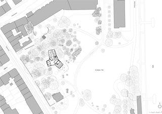 © Burckhardt+Partner Neubau Pavillon St. Johanns-Park de Burckhardt+Partner AG
