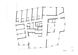 niv0 HPO Etablissement médico-social von Bonnard Woeffray architectes fas sia