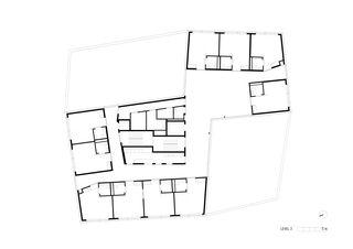 Niv2 HPO Etablissement médico-social de Bonnard Woeffray architectes fas sia