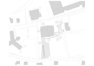 Situation HPO Etablissement médico-social de Bonnard Woeffray architectes fas sia