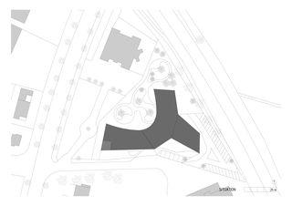 situation KIS centre pour personnes cérébro-lésées Sion von Bonnard Woeffray architectes fas sia