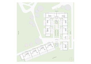 EG mit Grünräumen W3A Wohnen im Alter von MANTEL Architects GmbH