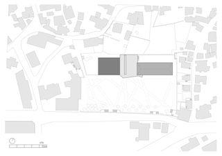 situation École de Borzuat von savioz fabrizzi architectes<br>françois meyer architecture