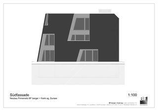 Südfassade Bürogebäude BF berger + frank ag von BF berger + frank ag