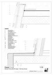 Detail 1 + 2 Bürogebäude BF berger + frank ag von BF berger + frank ag