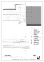 Detail 3 + 4 Bürogebäude BF berger + frank ag von BF berger + frank ag