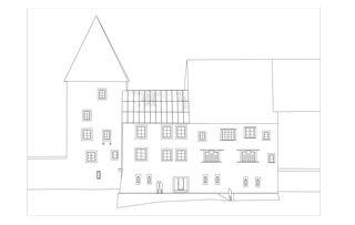 Nordfassade janus - Sanierung und Ausbau Stadtmuseum Rapperswil-Jona von :mlzd