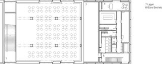 Plan 1er étage Einbau Mensa Kantonsschule Wettingen de :mlzd