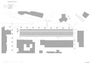 Situationsplan Berufsfachschule (EMF) von Graber Pulver Architekten AG