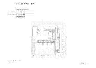 Rez-de-chaussée Gewerblich Industrielle Berufsschule Bern (GIBB) Viktoria de Graber Pulver Architekten AG