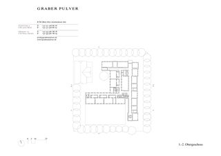 1er et 2e étage Gewerblich Industrielle Berufsschule Bern (GIBB) Viktoria de Graber Pulver Architekten AG