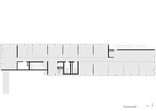 2. Obergeschoss Gewerbebau Fluh von burkhalter sumi architekten