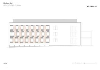 Ostfassade Neubau Süd FISBA OPTIK AG St.Gallen von RLC Architekten AG