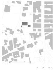 Situation Verwaltungszentrum Thusis de GREDIG WALSER ARCHITEKTEN AG