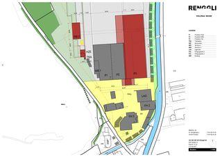 Situationsplan des Geländes Renggli-Werk von Renggli AG