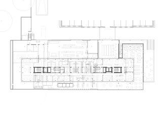 Erdgeschoss World Trade Organization WTO von wittfoht architekten