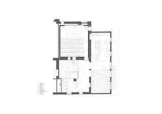 Grundriss Cinema Sil Plaz von Capaul & Blumenthal Architects
