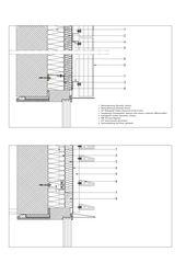 Fassadendetail Kantonsschule Trogen Mensa- und Konviktgebäude von kimlim architekten eth sia