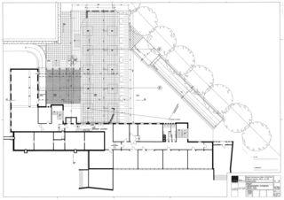 Untergeschoss Collège Jean-Jacques Rousseau, Fleurier/ commune de Val-de-Travers von Architecte HES dipl.<br/>
