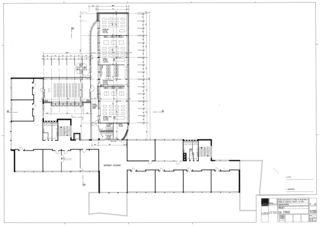 1. Obergeschoss Collège Jean-Jacques Rousseau, Fleurier/ commune de Val-de-Travers von Architecte HES dipl.<br/>