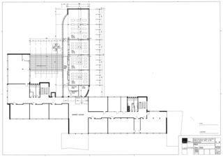 2. Obergeschoss Collège Jean-Jacques Rousseau, Fleurier/ commune de Val-de-Travers von Architecte HES dipl.<br/>