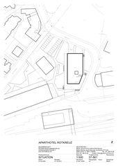 Situation Aparthotel Rotkreuz von MMJS Jauch-Stolz Architekten AG