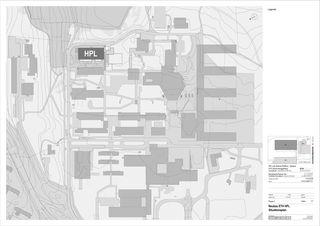 Situationsplan Molecular Health Science Platform ETH Zürich von Architekten Generalplaner<br/>
