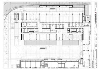 Grundriss Geschoss D Molecular Health Science Platform ETH Zürich von Architekten Generalplaner<br/>
