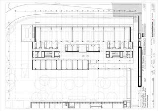 Grundriss Geschoss E Molecular Health Science Platform ETH Zürich von Architekten Generalplaner<br/>