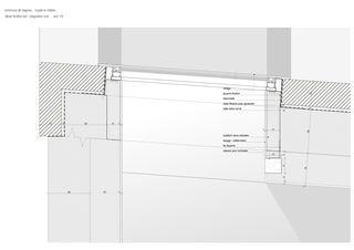 Detail Crypte _ le Châble _ Bagnes von hma Hugues Michaud Architecte