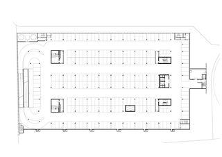 2tes & 3tes Untergeschoss Umwelt Arena von rené schmid architekten ag