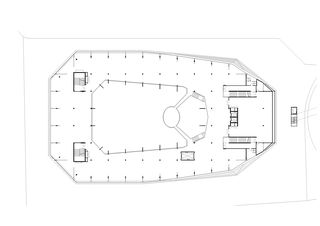 1stes Obergeschoss Umwelt Arena von rené schmid architekten ag