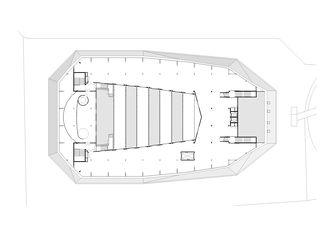 2tes Obergeschoss Umwelt Arena von rené schmid architekten ag
