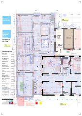 Erdgeschoss 1:100 Klinik Siloah Ärzte AG: Erweiterung der bestehenden Radiologie durch MR/IR von ArchitekturPlaner