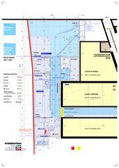 Untergeschoss 1:100 Klinik Siloah Ärzte AG: Erweiterung der bestehenden Radiologie durch MR/IR von ArchitekturPlaner