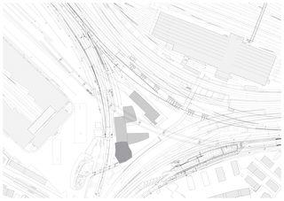 Situation_1000 Baudienstzentrum Kohlendreieck Zürich von von Ballmoos Partner Architekten AG