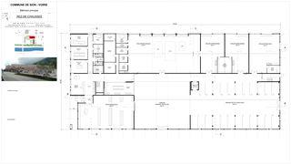 Rez-de-chaussée Nouvelle Voirie de Sion von Atelier d'architecture Pascal Varone