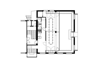 Obergeschoss 100_ohne text An alien for mediaxis von gus wüstemann architects
