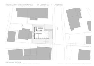 St. Georgen SG Umgebung Wohn- und Geschäftshaus von Dipl. Architekt SWB/SIA<br/>