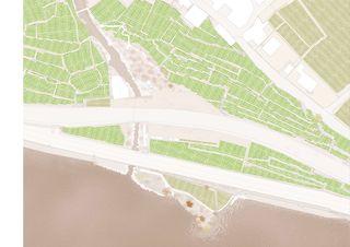 Situation Les Moulins de Rivaz - Vinorama von Atelier d'architectes Fournier-Maccagnan