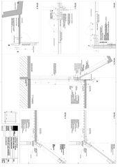 coupes Extension de l'usine de cartonnage et emballage Bourquin SA - Brieger à Couvet von Architecte HES dipl.<br/>