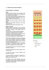 descriptif travaux BONGENIE von Marco PISTARA & Michel STRAZZA, architectes ETS-HES-EPFL