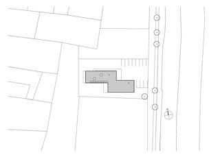 Situation Atelierhaus Wagner Seiler, Gampel von VOMSATTEL WAGNER ARCHITEKTEN ETH BSA SIA