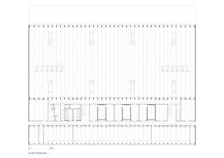 Grundriss Obergeschoss Sportzentrum von HILDEBRAND Studios AG