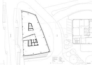 Grundriss Erdgeschoss Geschäftshaus am Bahnhofplatz de Christ & Gantenbein AG
