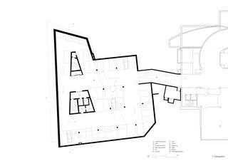 Grundriss 2. Untergeschoss Geschäftshaus am Bahnhofplatz de Christ & Gantenbein AG
