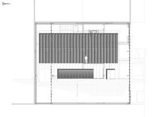 Elévation Est DTN von Guenin atelier d'architectures